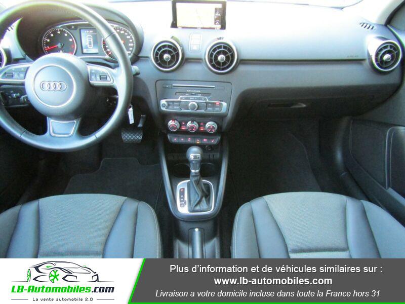 Audi A1 Sportback 1.4 TFSI 150 S Tronic Noir occasion à Beaupuy - photo n°2