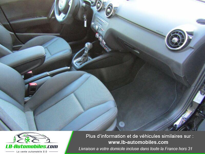 Audi A1 Sportback 1.4 TFSI 150 S Tronic Noir occasion à Beaupuy - photo n°6