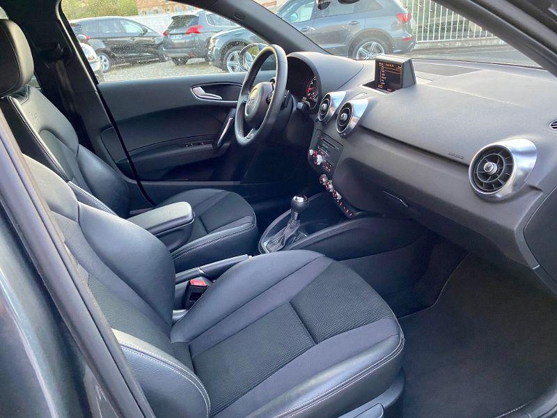 Audi A1 Sportback 1.4 TFSI 185ch S line S tronic 7 Gris occasion à Castelmaurou - photo n°4