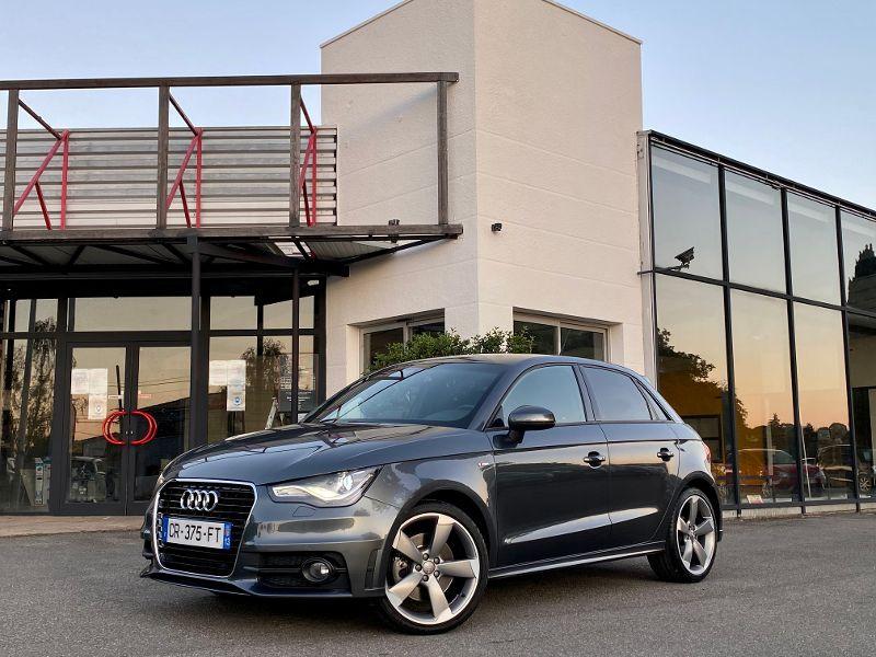 Audi A1 Sportback 1.4 TFSI 185ch S line S tronic 7 Gris occasion à Castelmaurou