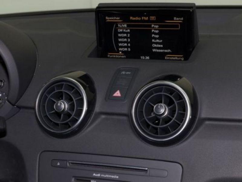 Audi A1 Sportback 1.6 TDI 116 cv S tronic S Line Noir occasion à Beaupuy - photo n°8