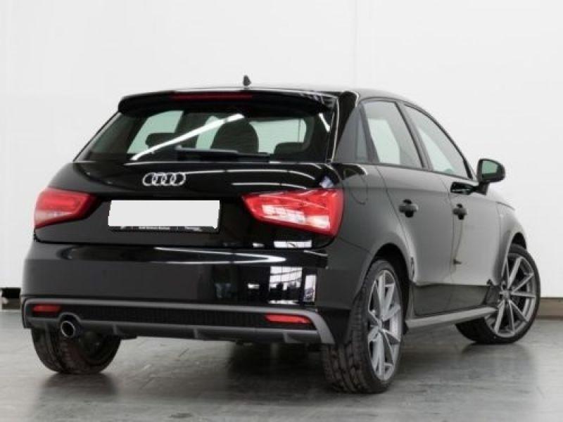 Audi A1 Sportback 1.6 TDI 116 cv S tronic S Line Noir occasion à Beaupuy - photo n°3