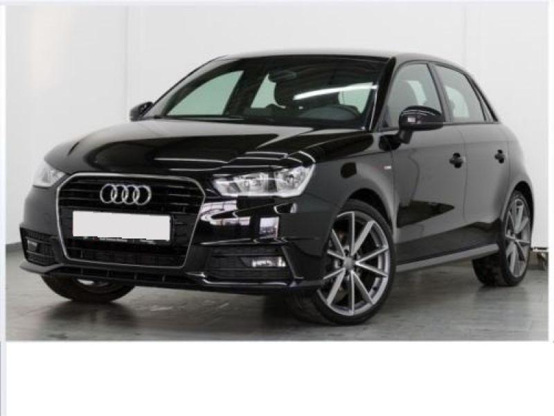 Audi A1 Sportback 1.6 TDI 116 cv S tronic S Line Noir occasion à Beaupuy
