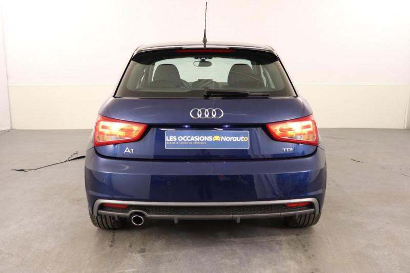 Audi A1 Sportback 1.6 TDI 116 Bleu occasion à Aubagne - photo n°4
