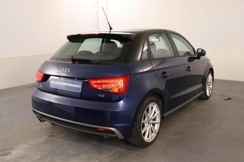 Audi A1 Sportback 1.6 TDI 116 Bleu occasion à Aubière - photo n°3