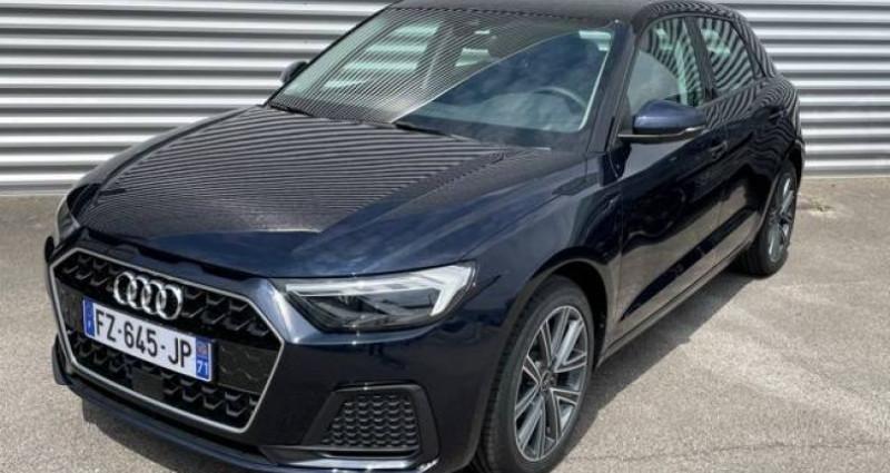Audi A1 Sportback 25 TFSI 95 ch S tronic 7 Advanced 2 Bleu occasion à Bourgogne - photo n°2