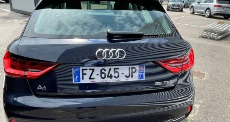 Audi A1 Sportback 25 TFSI 95 ch S tronic 7 Advanced 2 Bleu occasion à Bourgogne - photo n°7