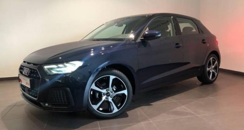 Audi A1 Sportback 25 TFSI 95 ch S tronic 7 Advanced Bleu occasion à Chenove