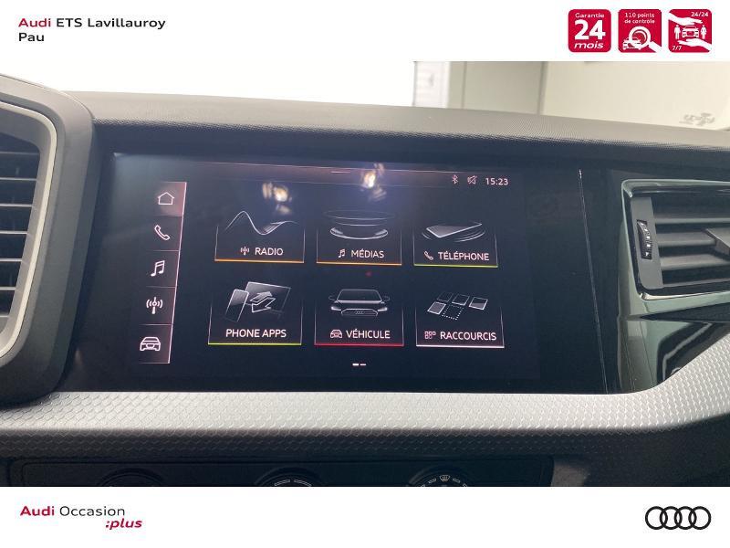 Audi A1 Sportback 25 TFSI 95ch Design Blanc occasion à Lescar - photo n°12