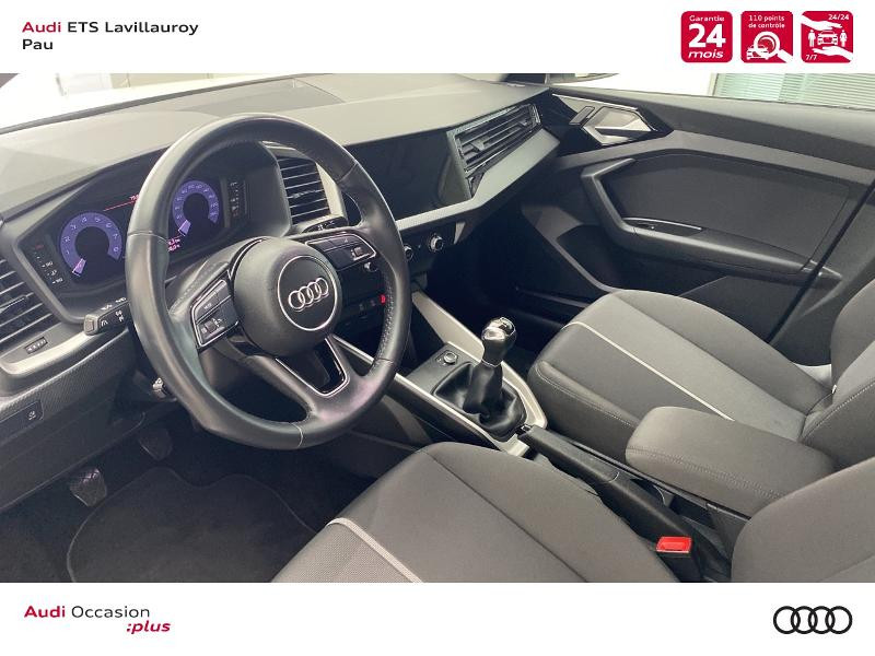 Audi A1 Sportback 25 TFSI 95ch Design Blanc occasion à Lescar - photo n°11