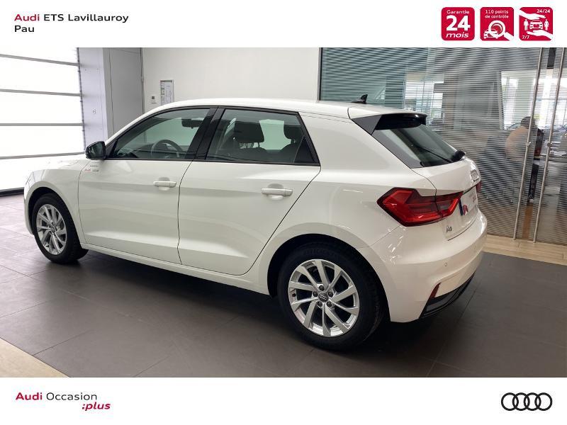 Audi A1 Sportback 25 TFSI 95ch Design Blanc occasion à Lescar - photo n°3