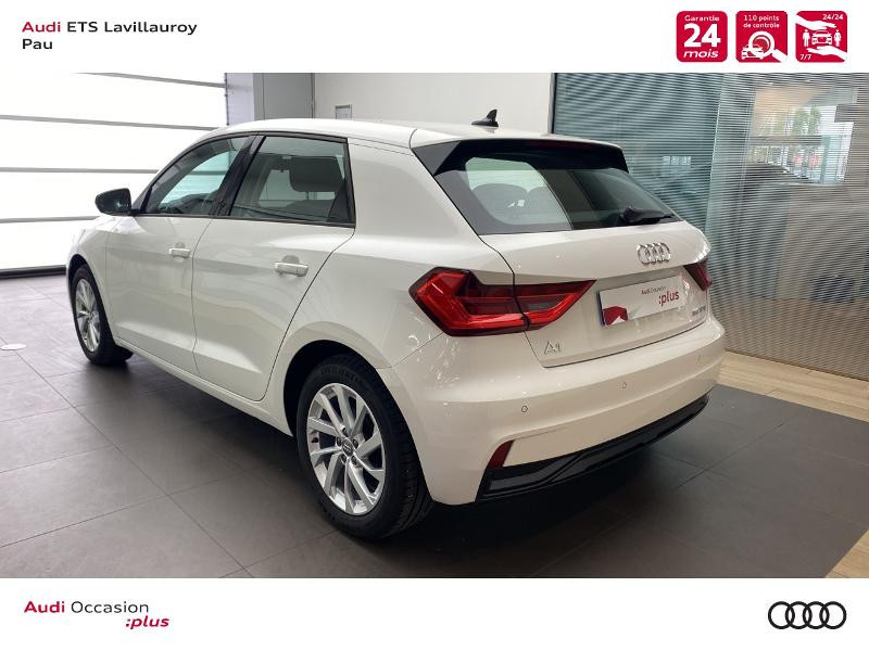 Audi A1 Sportback 25 TFSI 95ch Design Blanc occasion à Lescar - photo n°4