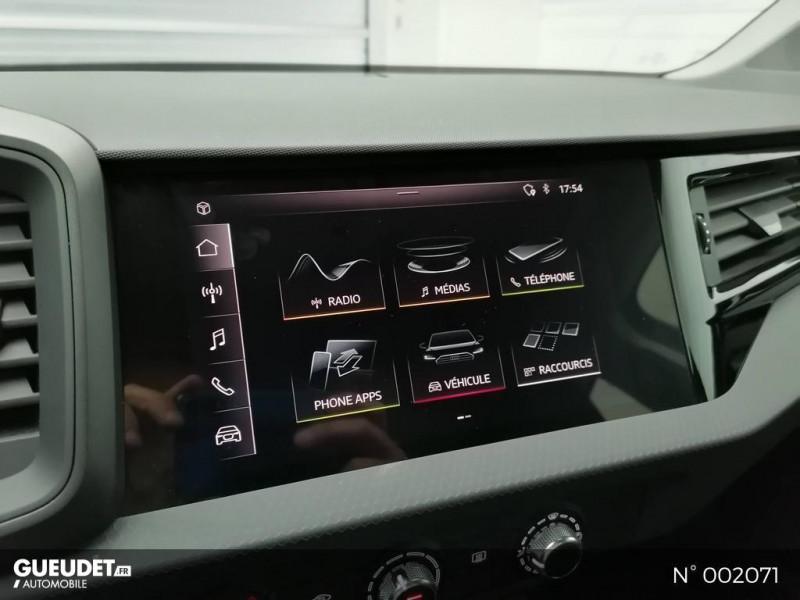 Audi A1 Sportback 25 TFSI 95ch Bleu occasion à Brie-Comte-Robert - photo n°10