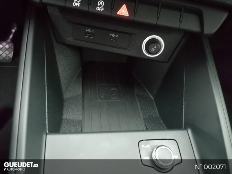 Audi A1 Sportback 25 TFSI 95ch Bleu occasion à Brie-Comte-Robert - photo n°12