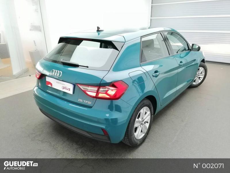 Audi A1 Sportback 25 TFSI 95ch Bleu occasion à Brie-Comte-Robert - photo n°4
