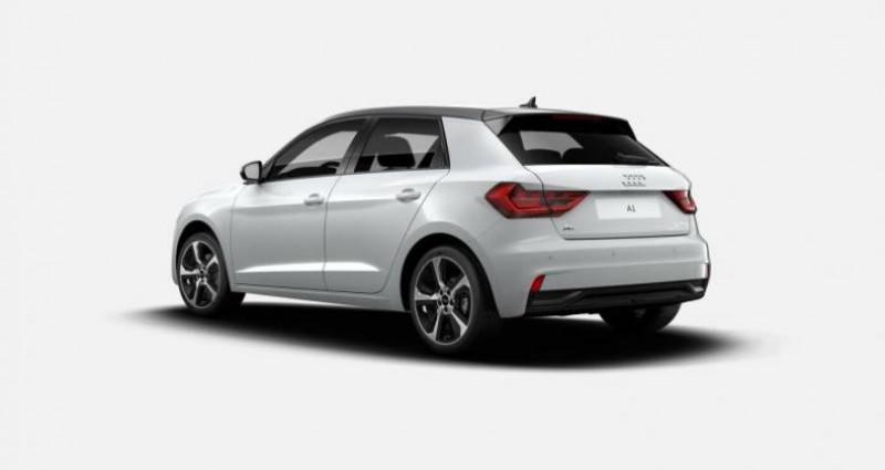 Audi A1 Sportback 30 TFSI 110 ch S tronic 7 Advanced Blanc occasion à Chenove - photo n°3