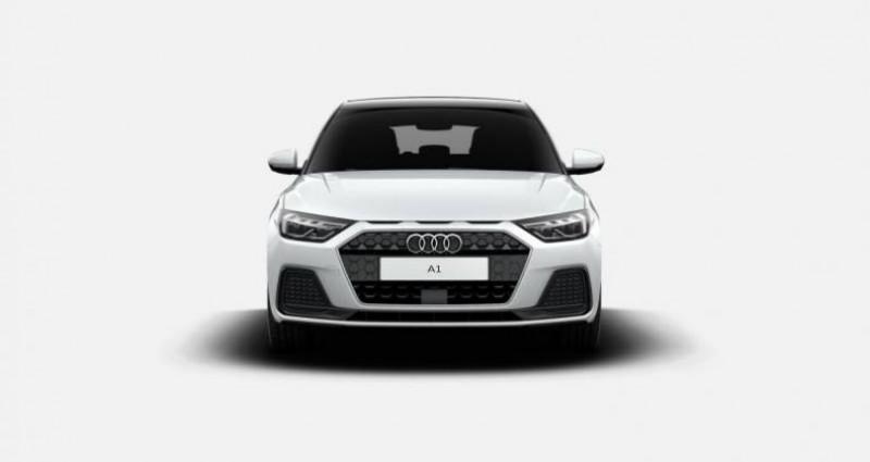 Audi A1 Sportback 30 TFSI 110 ch S tronic 7 Advanced Blanc occasion à Chenove - photo n°7