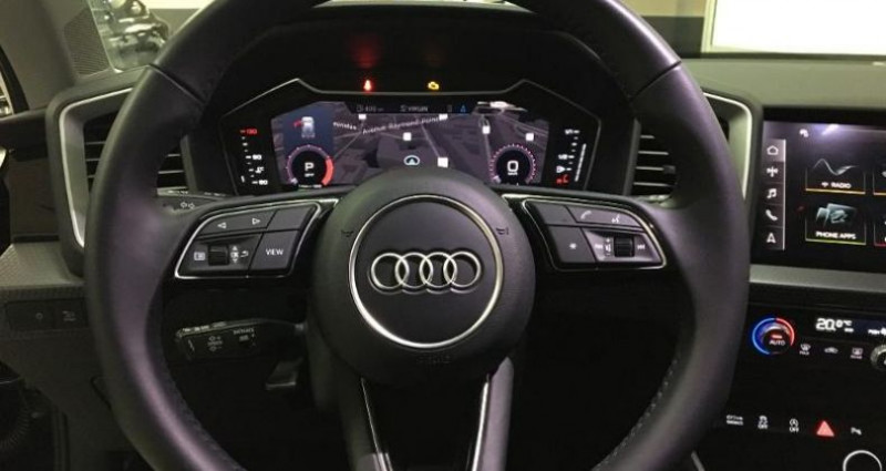 Audi A1 Sportback 30 TFSI 110ch Design Luxe S tronic 7 Noir occasion à Chambourcy - photo n°5