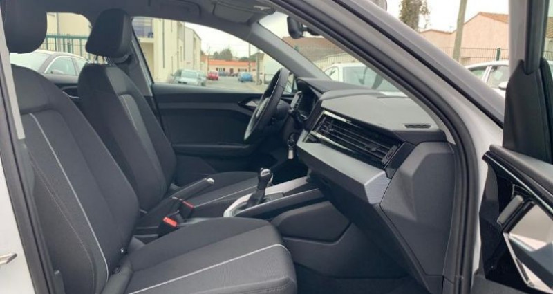 Audi A1 Sportback 30 TFSI 110ch Design S tronic 7 Blanc occasion à La Rochelle - photo n°7