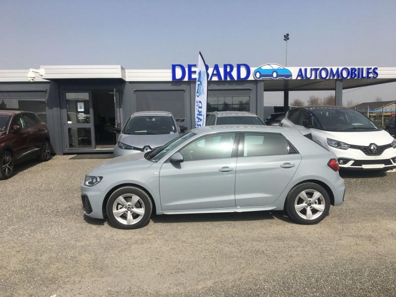 Audi A1 Sportback 30 TFSI 116CH S LINE S TRONIC 7 Gris occasion à Labège - photo n°2