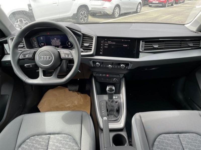 Audi A1 Sportback 30 TFSI 116CH S LINE S TRONIC 7 Noir occasion à Mées - photo n°3