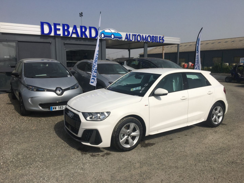 Audi A1 Sportback 30 TFSI 116CH S LINE S TRONIC 7 Blanc occasion à Ibos