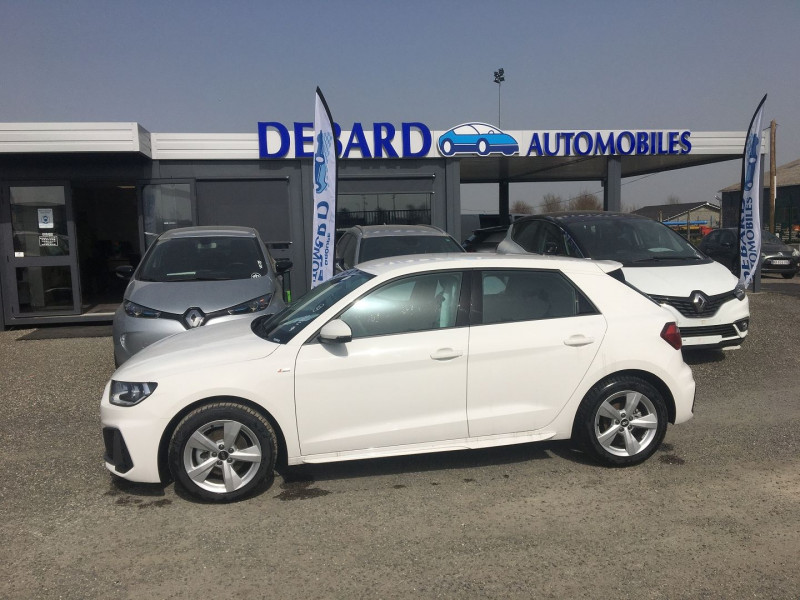 Audi A1 Sportback 30 TFSI 116CH S LINE S TRONIC 7 Blanc occasion à Ibos - photo n°2