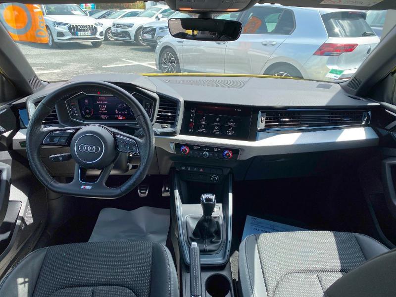 Audi A1 Sportback 30 TFSI 116ch S line Jaune occasion à Albi - photo n°3