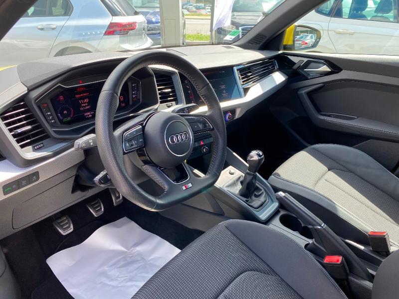 Audi A1 Sportback 30 TFSI 116ch S line Jaune occasion à Albi - photo n°7