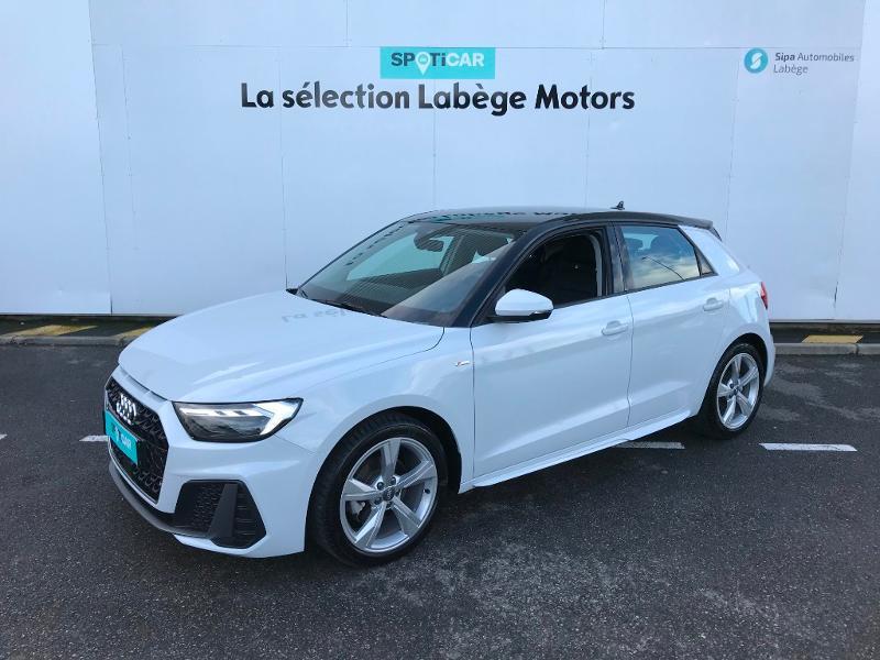 Audi A1 Sportback 30 TFSI 116ch S line Blanc occasion à Labège
