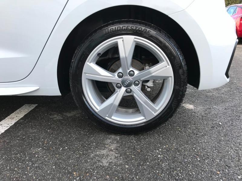 Audi A1 Sportback 30 TFSI 116ch S line Blanc occasion à Labège - photo n°7