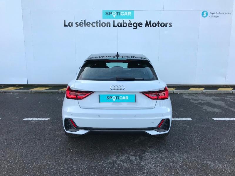 Audi A1 Sportback 30 TFSI 116ch S line Blanc occasion à Labège - photo n°5