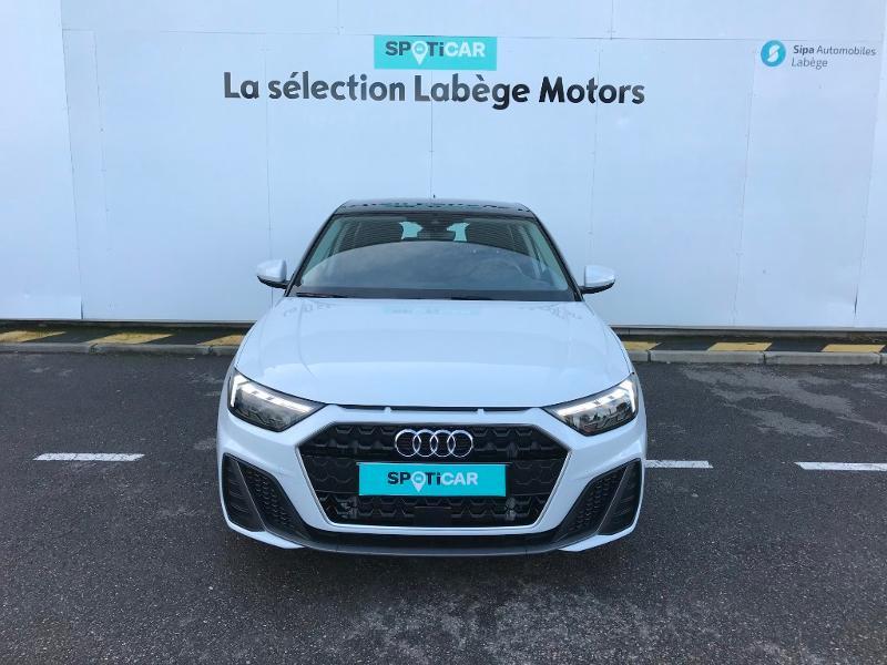 Audi A1 Sportback 30 TFSI 116ch S line Blanc occasion à Labège - photo n°2