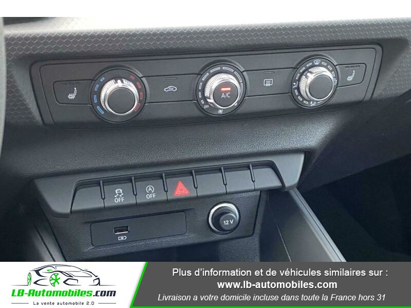 Audi A1 Sportback 35 TFSI 150 S Tronic Rouge occasion à Beaupuy - photo n°8