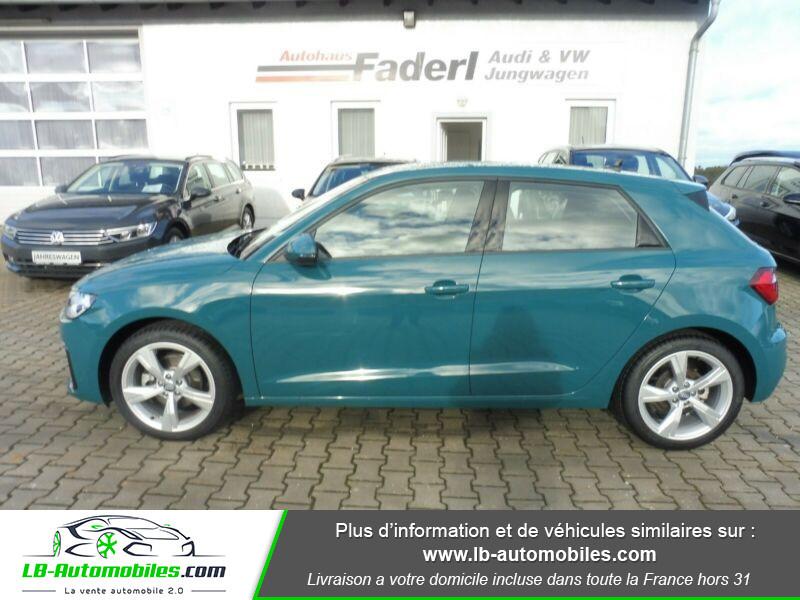 Audi A1 Sportback 35 TFSI 150 S Tronic Vert occasion à Beaupuy - photo n°10