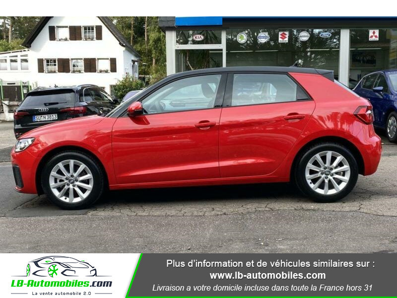 Audi A1 Sportback 35 TFSI 150 S Tronic Rouge occasion à Beaupuy - photo n°14