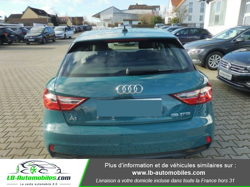 Audi A1 Sportback 35 TFSI 150 S Tronic Vert occasion à Beaupuy - photo n°9