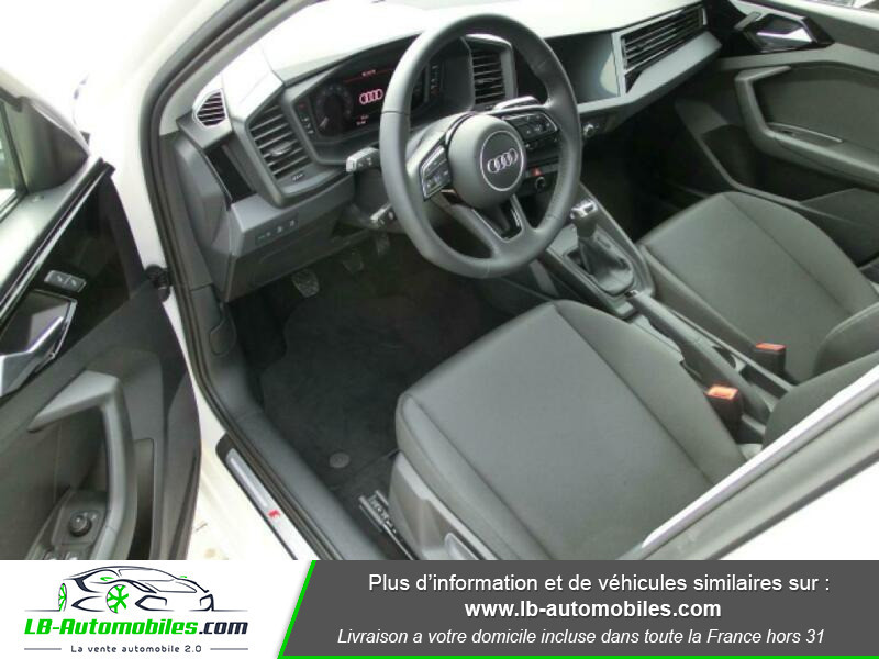 Audi A1 Sportback 35 TFSI 150 Blanc occasion à Beaupuy - photo n°8
