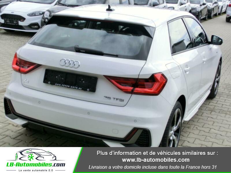 Audi A1 Sportback 35 TFSI 150 Blanc occasion à Beaupuy - photo n°3