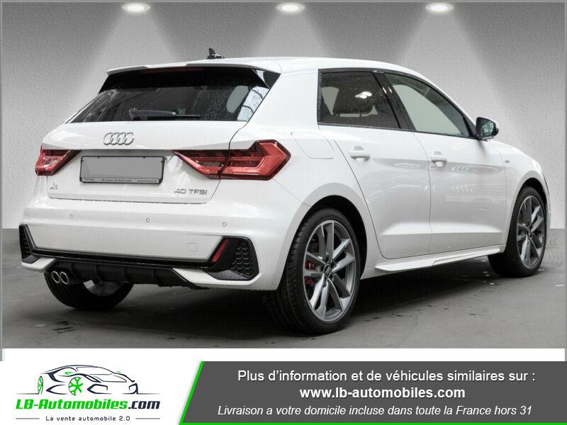 Audi A1 Sportback 40 TFSI 200 Blanc occasion à Beaupuy - photo n°3