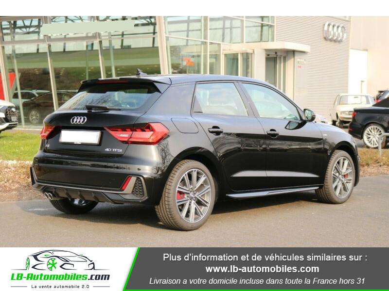 Audi A1 Sportback 40 TFSI 200 Noir occasion à Beaupuy - photo n°3
