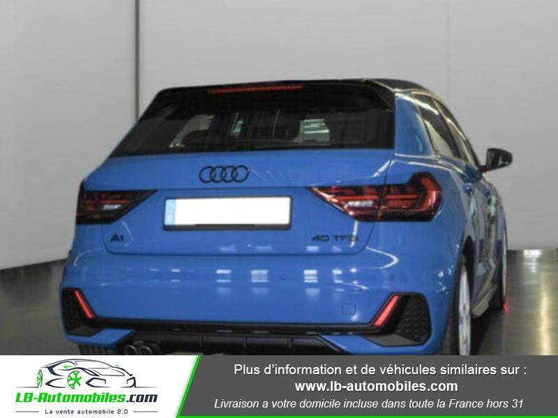 Audi A1 Sportback 40 TFSI 200 Bleu occasion à Beaupuy - photo n°3