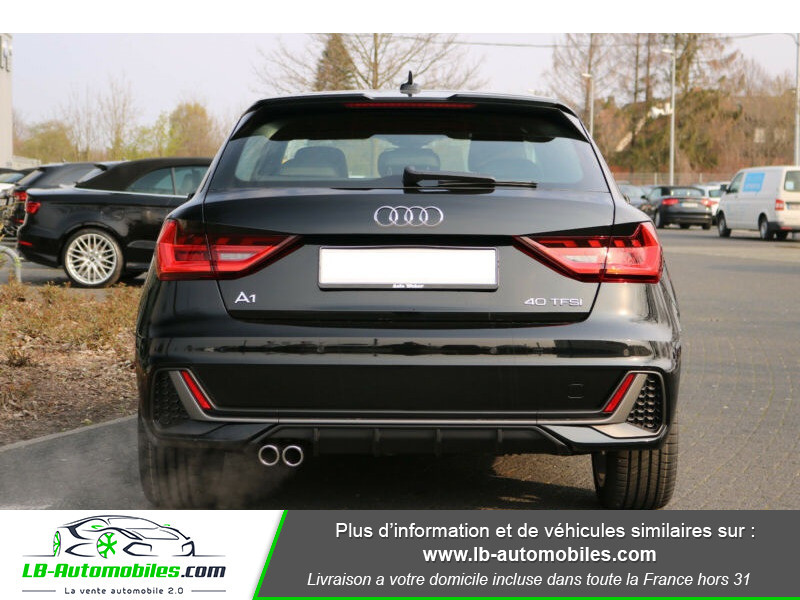 Audi A1 Sportback 40 TFSI 200 Noir occasion à Beaupuy - photo n°11