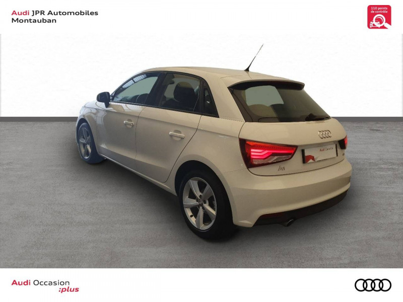 Audi A1 Sportback A1 Sportback 1.4 TDI ultra 90 Ambiente 5p  occasion à montauban - photo n°4