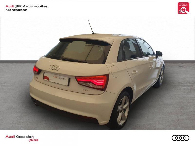 Audi A1 Sportback A1 Sportback 1.4 TDI ultra 90 Ambiente 5p  occasion à montauban - photo n°3