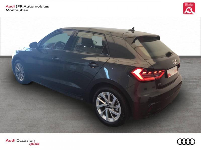 Audi A1 Sportback A1 Sportback 30 TFSI 116 ch S tronic 7 Design Luxe 5p  occasion à montauban - photo n°4