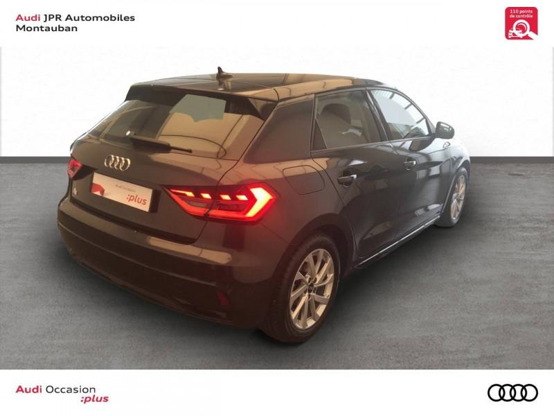 Audi A1 Sportback A1 Sportback 30 TFSI 116 ch S tronic 7 Design Luxe 5p  occasion à montauban - photo n°3