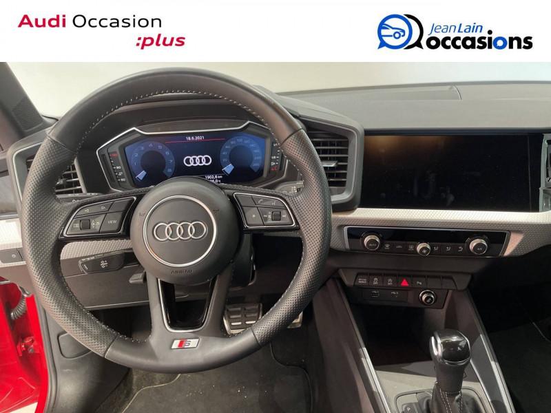 Audi A1 Sportback A1 Sportback 30 TFSI 116 ch S tronic 7 S line 5p Rouge occasion à Albertville - photo n°12
