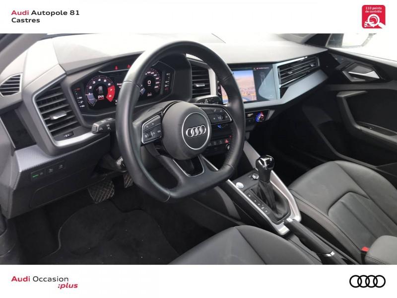 Audi A1 Sportback A1 Sportback 35 TFSI 150 ch S tronic 7 Design Luxe 5p Blanc occasion à Castres - photo n°7