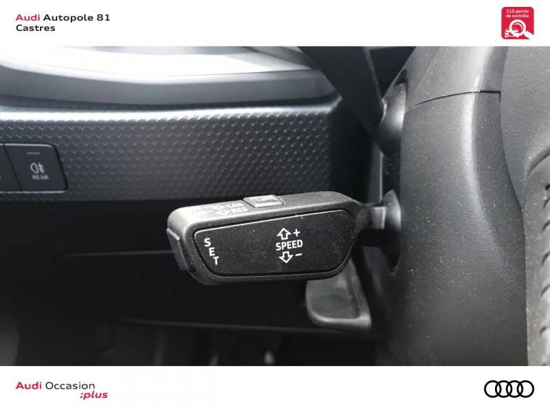 Audi A1 Sportback A1 Sportback 35 TFSI 150 ch S tronic 7 Design Luxe 5p Blanc occasion à Castres - photo n°11